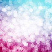 Abstract blurred bokeh colorful background