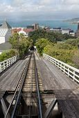 Wellington New Zealand Cable Car Tracks