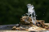 Soothing Fountain, Rocks, & Basin #2