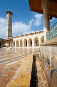 stock photo of mear  - The great mosque in the city of Aleppo Syria - JPG