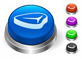Steak Icons on Round Button Collection
