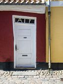 Antique Door In Ribe, Denmark