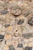 Part Of A Stone Wall.  Kutna Hora, Czech Republic