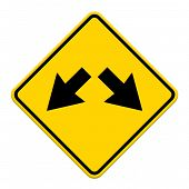 Road Signs Yellow Series
