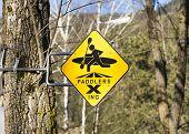 Paddlers Crossing