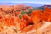 Scenic Bryce Canyon National Park