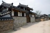 foto of andong  - Part of the Hahoe Folk village in South Korea - JPG