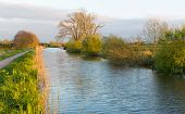 English waterway in Somerset