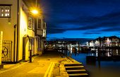 Weymouth Quay Twilight
