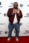 NEW YORK-APR 16: Raekwon the Chef of Wu-Tang Clan at the world premiere of