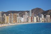 Benidorm, Costa Blanca, Spain - APRIL 9TH 2014