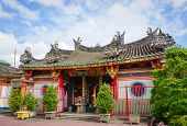 The Pagoda of the God Lady, a Chinese style temple