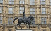 Richard I statue, London UK