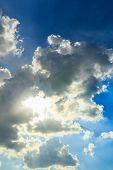 Sun In The Cubes Cloud