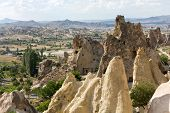 image of goreme  - Goreme National Park in Cappadocia in Turkey - JPG