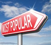most popular pop poll charts, best selling product, most wanted item
