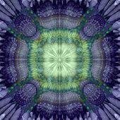 Aura Fractal Green