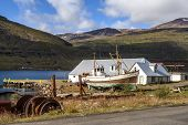 Old Fishing Boat In Iceland3