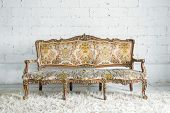 Vintage classical style Sofa bed
