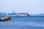 Moby Ferry in Sardinia