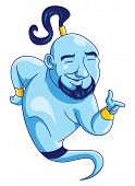 stock photo of genie  - Genie Editable  - JPG
