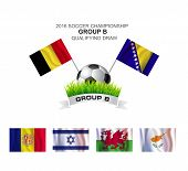 2016 Soccer Championship Group B Qualifying Draw