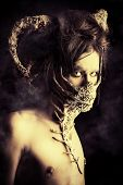 picture of creatures  - Frightening mythical creature male - JPG