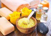 sea salt and aroma soap