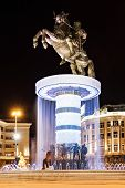 picture of great horse  - Warrior on a Horse statue  - JPG