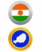 Button As A Symbol Niger
