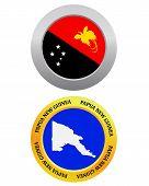 Button As A Symbol Papua New Guinea
