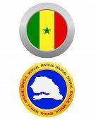Button As A Symbol Senegal