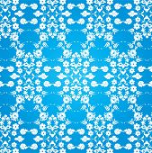 Background With Seamless Pattern Seven