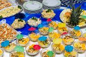 foto of catering  - Catering food at a party - JPG