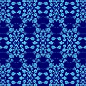 Background With Seamless Pattern Six