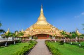 picture of dharma  - The Global Vipassana Pagoda is a Meditation Hall in Mumbai India - JPG