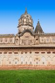 picture of lakshmi  - Lakshmi Temple in Orchha in Madhya Pradesh India - JPG