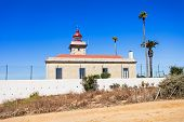image of lagos  - Lighthouse at Ponta da Piedade in Lagos Algarve region in Portugal - JPG