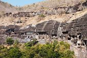 foto of ellora  - Ajanta caves near Aurangabad Maharashtra state in India - JPG