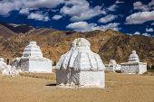 Many Stupas
