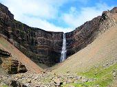 Hengifoss Waterfall (Iceland)