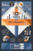Seo Infographics Set