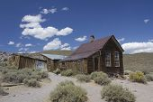 Bodie Ghost town wooden house