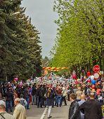 May 9Th. Holiday Demonstration.