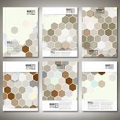 stock photo of hexagon pattern  - Geometric backgrounds - JPG