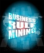 Business Rule Mining Interface Hi Technology