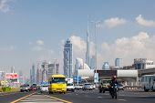 Sheikh Zayed Road In Dubai City