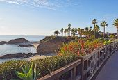 image of southern  - Beautiful Laguna Beach in Southern California - JPG