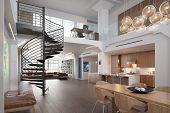 3D rendering / Modern Loft
