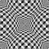 Design Warped Square Volumetric Pattern
